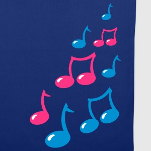 cute musical notes Bags  - Tote Bag