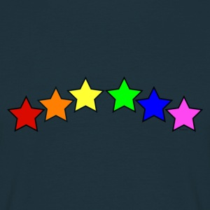 GAY we are all STARS - Mannen T-shirt