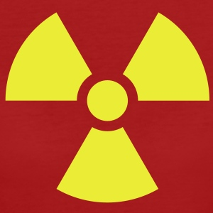 Radiation Sign (Vector) - Frauen Bio-T-Shirt