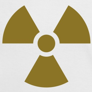 Radiation Sign (Vector) - Women's Ringer T-Shirt