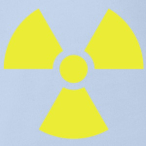 Radiation Sign (Vector) - Organic Short-sleeved Baby Bodysuit