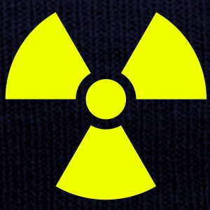 Radiation Sign (Vector) - Wintermütze
