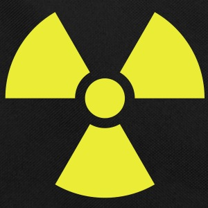 Radiation Sign (Vector) - Retro Tasche