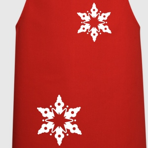 A snow crystal  Aprons - Cooking Apron