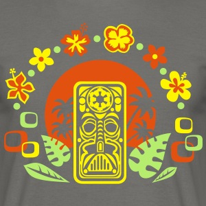 The Dark Side of Tiki T-Shirts - Männer T-Shirt