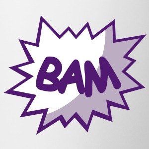 Comic speech bubble Bam Mugs  - Mug