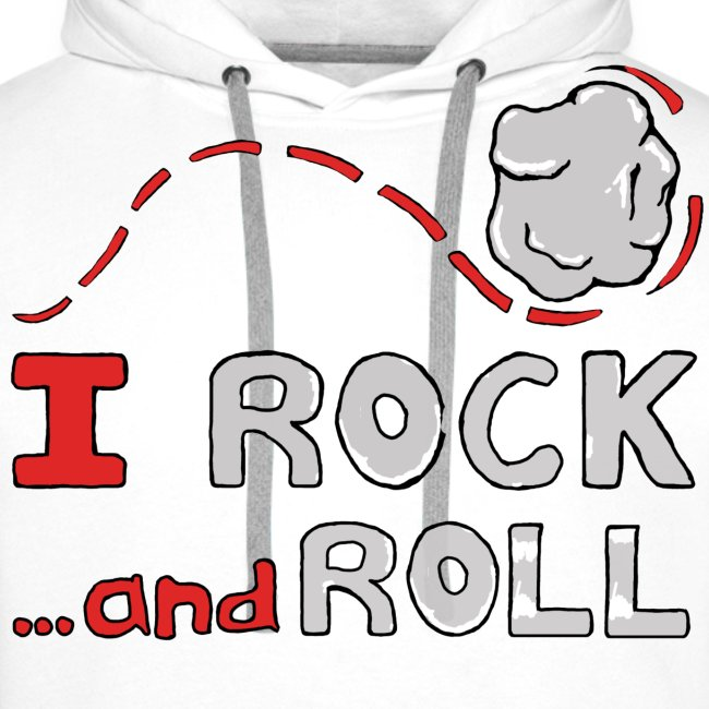 I Rock and Roll Mens Hoodie