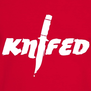 Knifed - Games - eSport T-Shirts - Männer Kontrast-T-Shirt