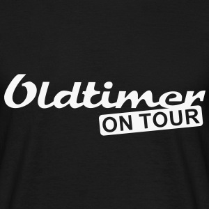 Oldtimer on Tour | unisex shirt - Männer T-Shirt