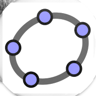 Design ~ GeoGebra Buttons x5 (small)