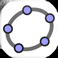 Design ~ GeoGebra Buttons x5 (large)