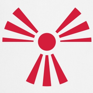 Radiation Sign (Rising Sun) (Vector) - Cooking Apron