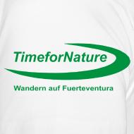 Motiv ~ TimeforNature-Shirt für Damen mit Logo linker Ärmel