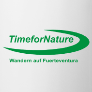 Motiv ~ Keramik-Tasse mit TimeforNature-Logo einseitig