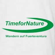 Motiv ~ Herren-Shirt mit TimeforNature-Logo auf Ärmel links