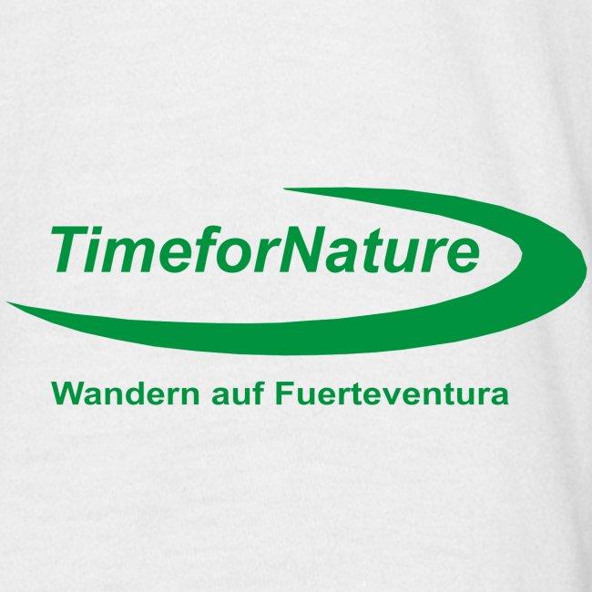 Herren-Shirt mit TimeforNature-Logo auf Ärmel links