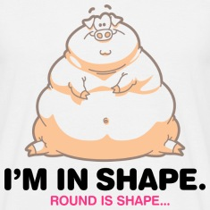 Round Is Shape 1 (dd)++ T-Shirts