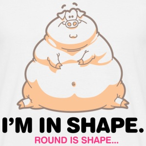 Round Is Shape 1 (dd)++ T-Shirts - Men's T-Shirt