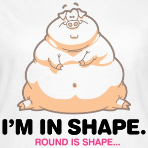 Round Is Shape 1 (dd)++ T-Shirts - Frauen T-Shirt
