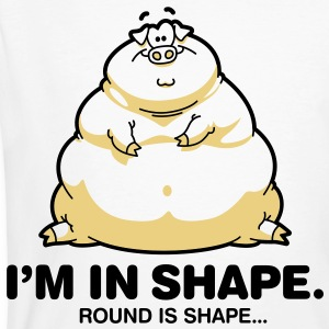 Round Is Shape 1 (2c)++ T-shirts - Ekologisk T-shirt herr