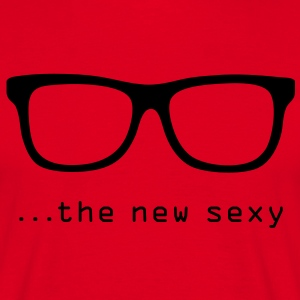 Nerd - the new sexy! - Männer T-Shirt