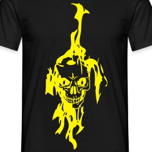tete mort flame31 Tee shirts - T-shirt Homme