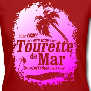 Tourette de Mar - party shirt - Lloret de mar Camisetas - Camiseta ecológica mujer