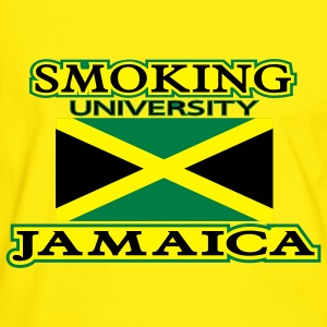 smoking university jamaica - Männer Kontrast-T-Shirt
