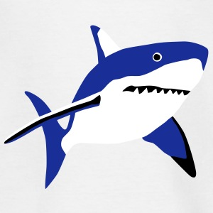 shark_092011_b_3c Shirts - Teenage T-shirt