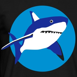 shark_092011_g_3c T-Shirts - Men's T-Shirt