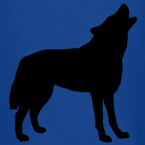 wolf_092011_a_1c T-shirts - Teenager-T-shirt