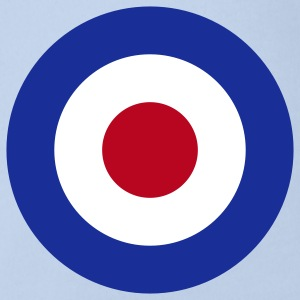 Mod Target United Kingdom Großbritannien Rollerfahrer Scooter Run Beatmusik Bodys Bébés - Body bébé bio manches courtes