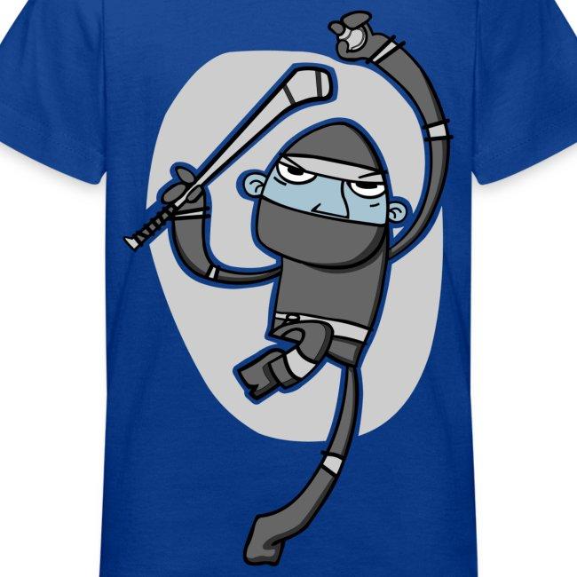 Ninja Hurler: Kid's T-Shirt