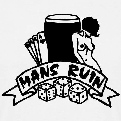 1 colour - mans ruin pin up girl sex drugs rock n roll junggesellenabschied