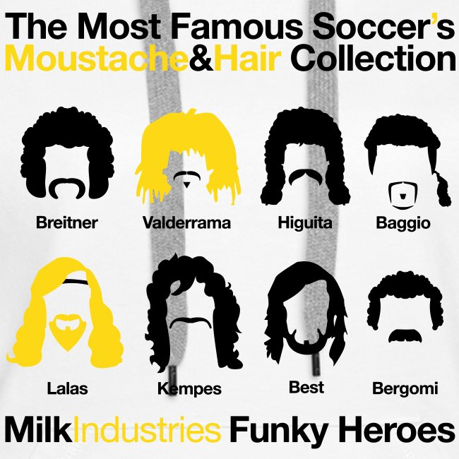 Soccer's Moustache&Hair Collection
