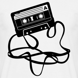 Audio Cassette - Mannen T-shirt