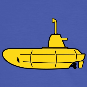 2 colours - Gelbes U-Boot - Yellow Submarine T-Shirts - Men's Ringer Shirt