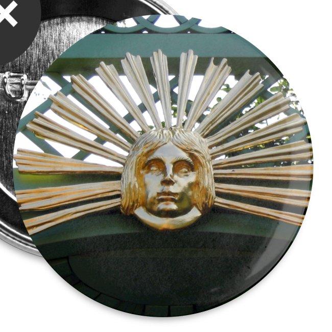 Sonnengesicht - Prinz Georg Garten