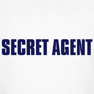 Secret Agent - Männer Bio-T-Shirt