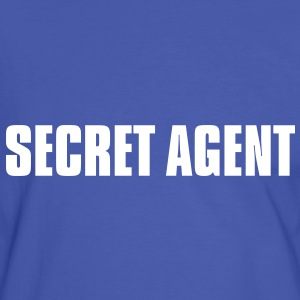 Secret Agent - Männer Kontrast-T-Shirt