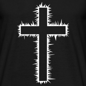 Christian cross T-Shirts - Men's T-Shirt