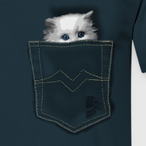 pocket cat by CustomStyle Tee shirts - T-shirt Homme