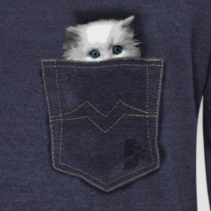 pocket cat by CustomStyle Sweat-shirts - Pull Femme col bateau de Bella