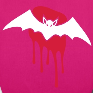 Bat - Blood - Evil - Scary Bags  - EarthPositive Tote Bag