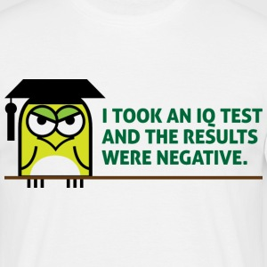 Iq Test 1 (dd)++ T-shirts - Mannen T-shirt