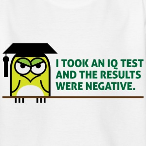 Iq Test 1 (dd)++ Kinder T-Shirts - Teenager T-Shirt