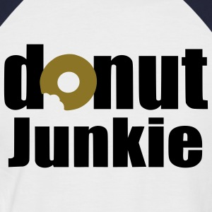 donut junkie T-Shirts - Men's Baseball T-Shirt