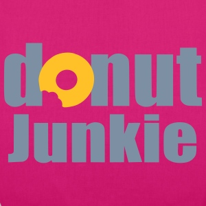 donut junkie Bags  - EarthPositive Tote Bag