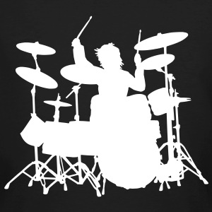 Power Drumming - Männer Bio-T-Shirt