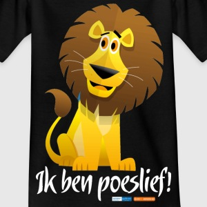 Ik ben poeslief Kinder shirts - Teenager T-shirt